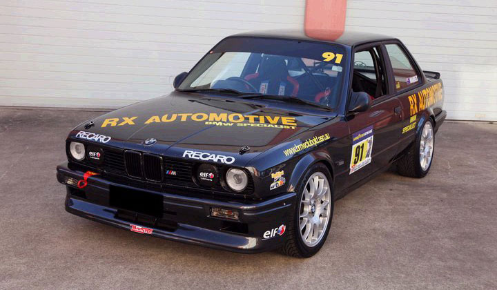 RX Automotive – BMW Race Car builds are our speciality